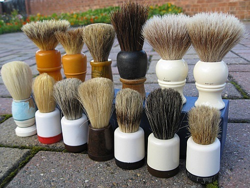 Different Shaving Brushes