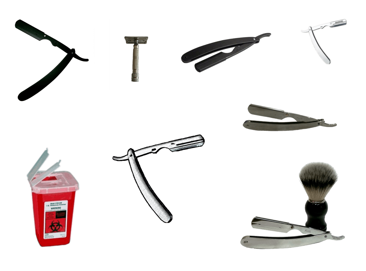 razors for beard shaping and shaving