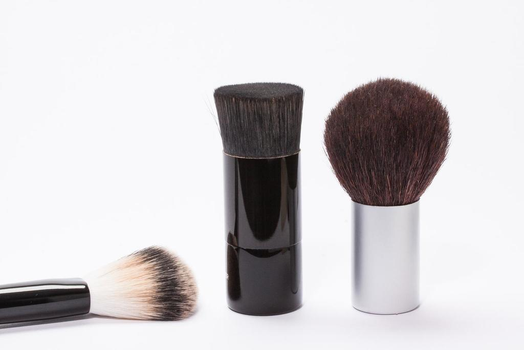 a variety of brushes