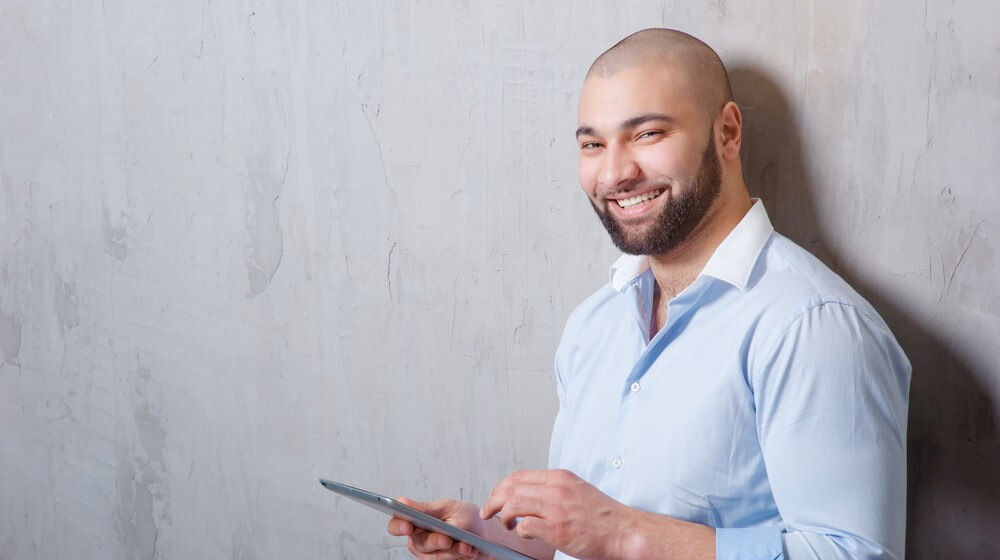 How To Maintain a Bald Head With Your New Beard Style