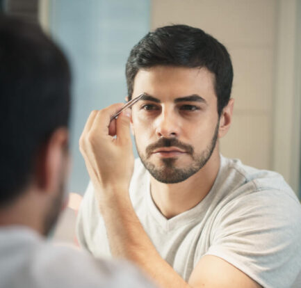 How to Trim Eyebrows for Men