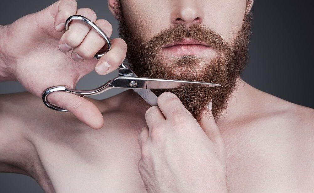 How to Trim a Beard With Scissors