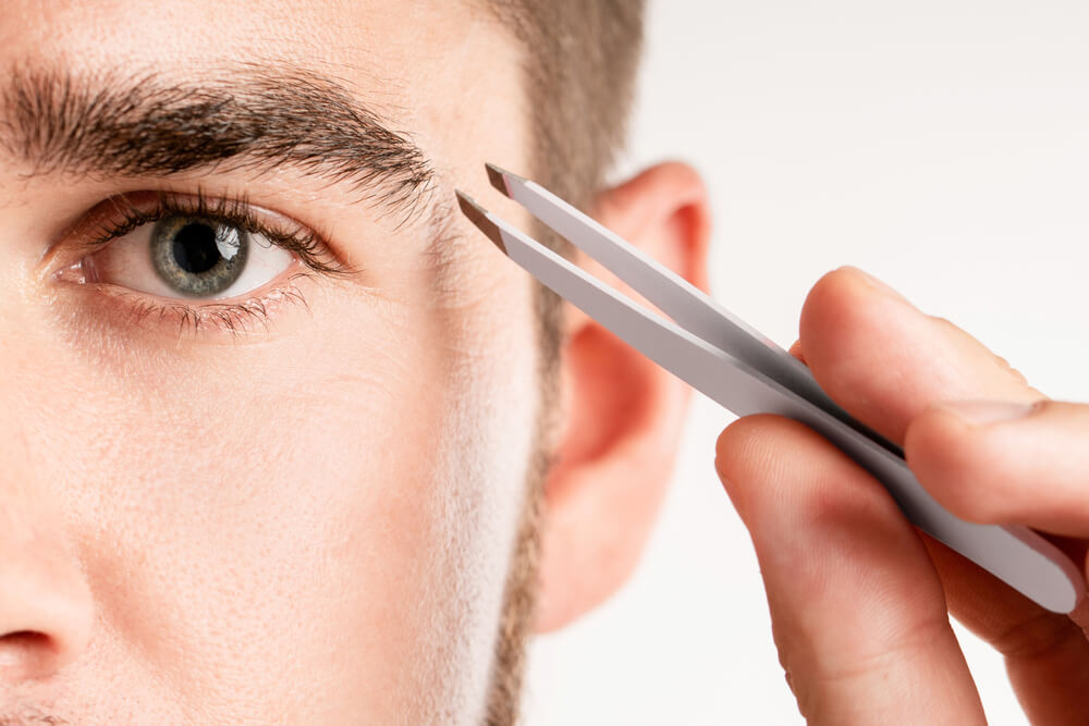Ways to Trim Eyebrows for Men